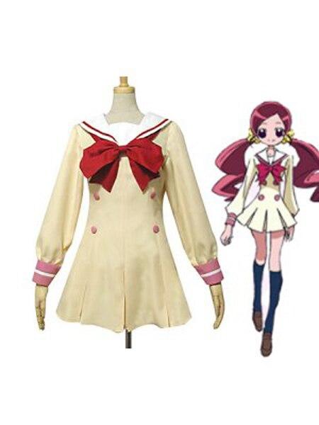 Pretty Cure Myoudou Akademie Der Junior High Mädchen Uniform Cosplay Kostüme Halloween-Party für Frauen Kostüm