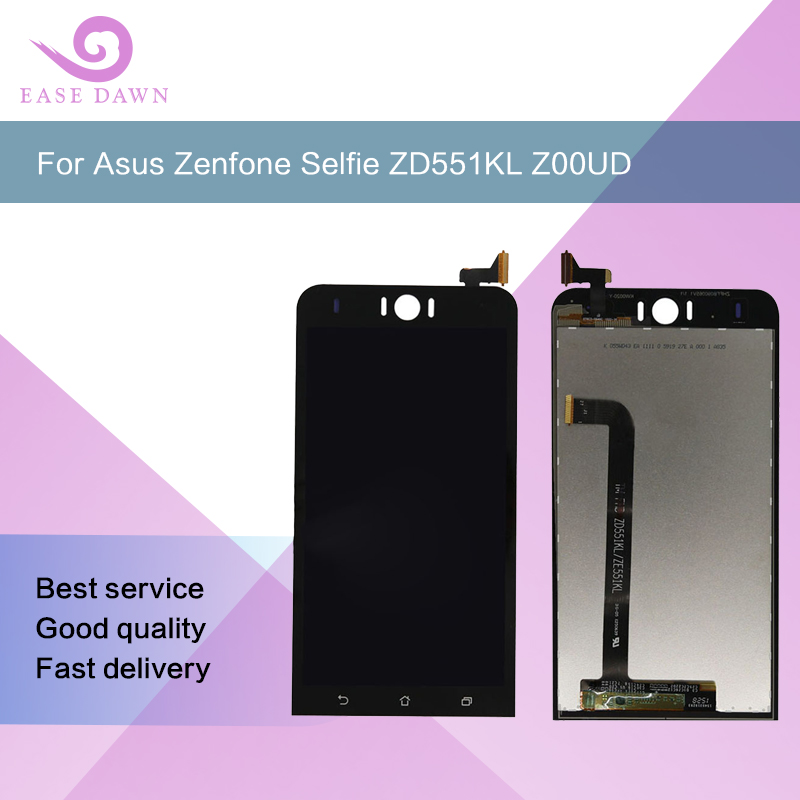 For <font><b>ASUS</b></font> <font><b>Zenfone</b></font> <font><b>Selfie</b></font> <font><b>ZD551KL</b></font> Z00UD <font><b>LCD</b></font> IPS screen <font><b>LCD</b></font> Display Screen+Touch Panel Digitizer Assembly For <font><b>Asus</b></font> Display Original image