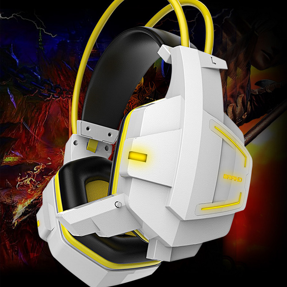 Led Gaming Headphones Headset for PC Gamer PS4 Xbox one Gaming Headphones LED Game Headset For PC Video Game Headset USB philips pc headset shm7410u 10