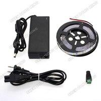 Cao Sáng trắng/blue/red/green dải dẫn đặt SMD 5630 60 leds/m LED dây ánh sáng linh hoạt led ánh sáng ribbon + 12 V 6A Power Adapter
