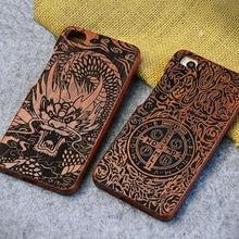 Элитная подлинная палисандр коке чехол для xiaomi 5 ми mi5s 5S моды деревянный лазерной резьбы телефон жесткий задняя крышка дерево случаях