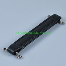 2pcs Vintage Black Leather Handle For Guitar Amplifier Fender Amp Parts