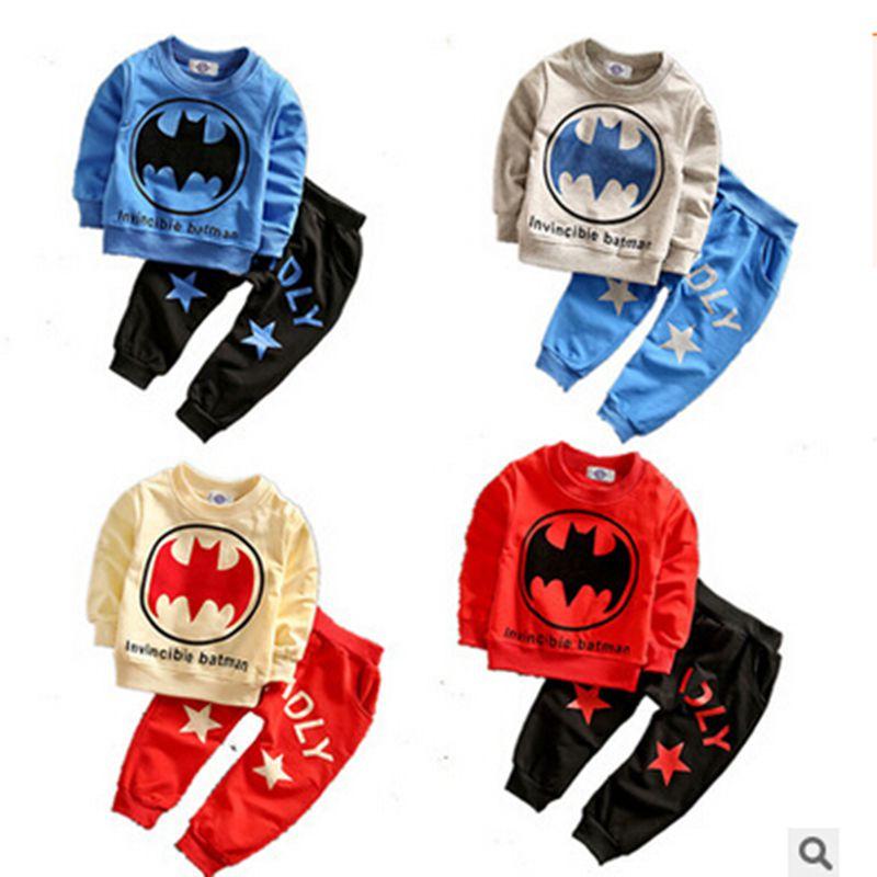2016 Baby Boy Girls Clothes Set Spring Autumn Children Clothing Sets Brand Sport Suits 2pcs/sets Cotton Long Seelve Kids Clothes