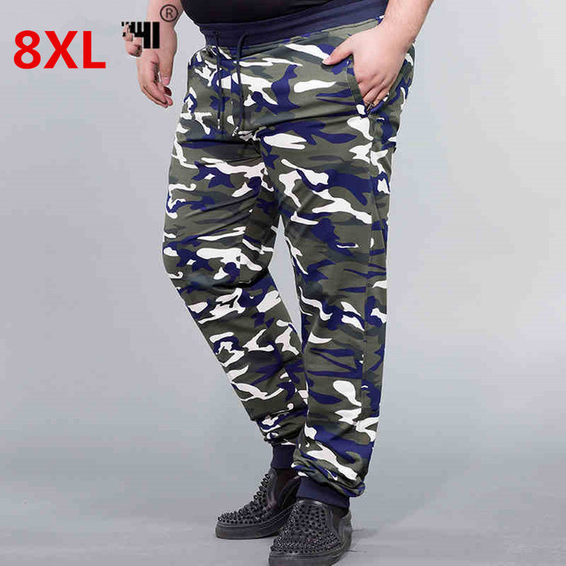 8a0d11eb1b US $40.21 5% OFF|Men's Camouflage Sweats Pants 2018 Men Joggers Tracksuit  Bottoms Army Military Camo Print Casual Cotton Sweatpants Trousers Male-in  ...