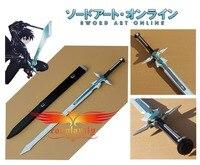(Now In stock) Sword Art Online Kazuto Kirigaya Kirito White Sword New Style Cosplay Prop D0005