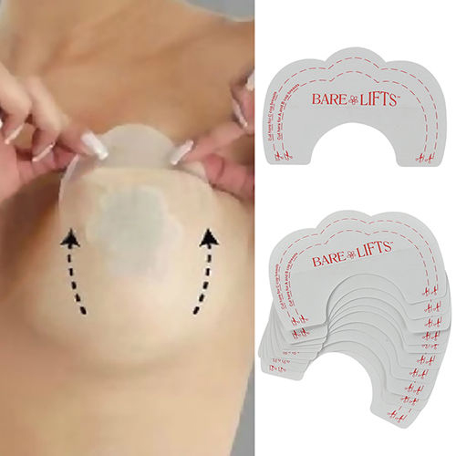 8eace6e762 5Pair 10PCS Women Fashion Charming DIY Strapless Backless Invisible Bra Pad  Cleavage Enhance Stick Nipple Cover Pasty