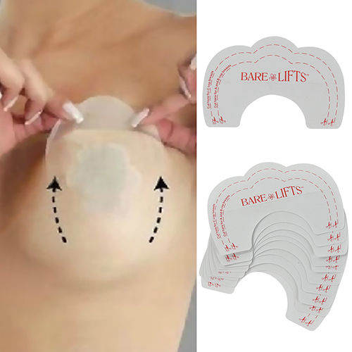 5pair 10pcs Women Fashion Charming Diy Strapless Backless Invisible Bra Pad Cleavage Enhance Stick Nipple Cover Pasty