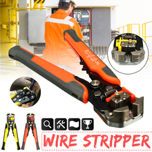 Crimper Cable Cutter Automatic Wire Stripper Multifunctional Stripping Tools Crimping Pliers Terminal 0.2-6.0mm2 tool стоимость
