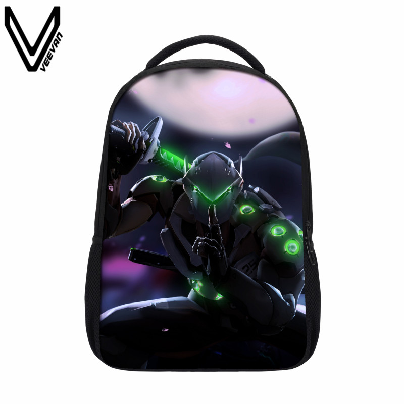 VEEVANV 2017 New Arrival Casual Cartoon Backpacks School Boy Girls Bookbags New Fashion Book Bags For Teenager Fans Gift