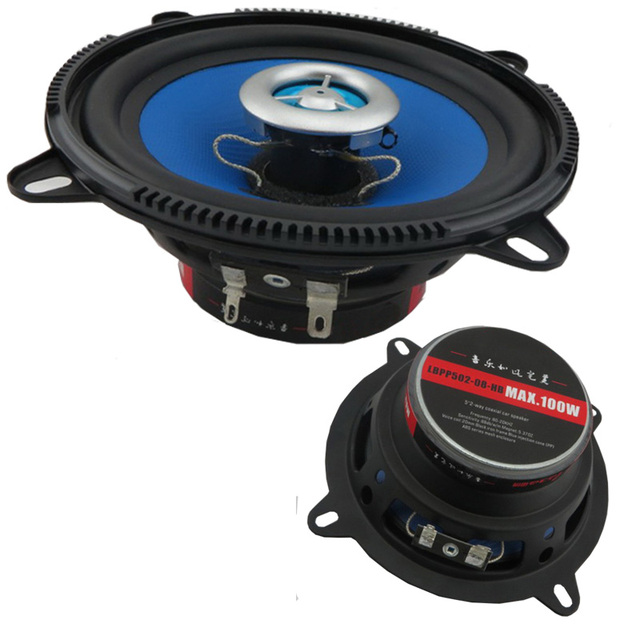 High Quality Audio Speakers Speaker Blue 5 Inch 2pcs 5 2 Way Car