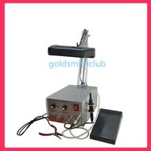 jewelry spot welding machine gas welding kit 850W welder for gold,silver welding with LCD optic device jewelry welder machine
