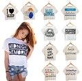 Summer Style Personality Digital Printed Crop Tops Harajuku Punk Fitness Women Short Sleeve T shirts Cute Girl T-shirt