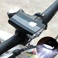 Перезаряжаемый светодиодный велосипедный фонарик с USB для велосипеда  передняя фара для велосипеда  Аксессуары для велосипеда