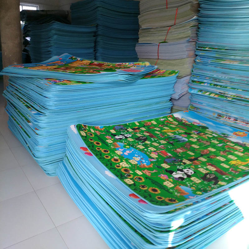 0 5CM 1CM Baby Play Reversible Crawling Mat Foam Puzzles Carpet Kids Rug Animal Developing Pad Innrech Market.com