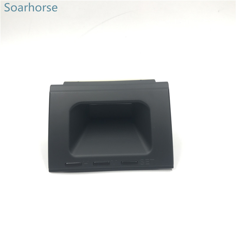 Soarhorse Car Dashboard Electronic Clock digital clock For Mitsubishi Pajero Montero MK2 V31 V32 V33 V43 1990 2000