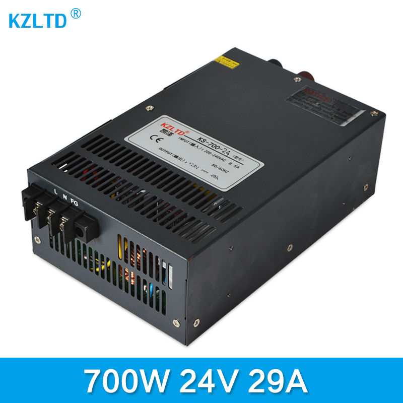 Switching Power Supply 24V 700W AC-DC 24V Power Supply SMPS Switch Power Supply 24 Volt Transformer Power Adapter for LED Light