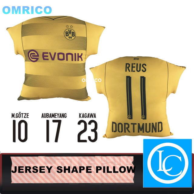 Sofa Dortmund 2017 2018 football home jersey borussia dortmund cushion auto