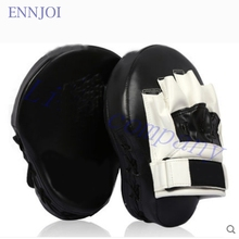 2016 hot sale PU thick curved one sandbag Boxing Gloves Pads foot target board free combat