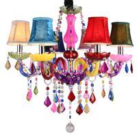 Modern Chandeliers LED Crystal Lighting Bohemia Colorful Chandelier lustres de cristal Decorative Lamps Pendant lamp