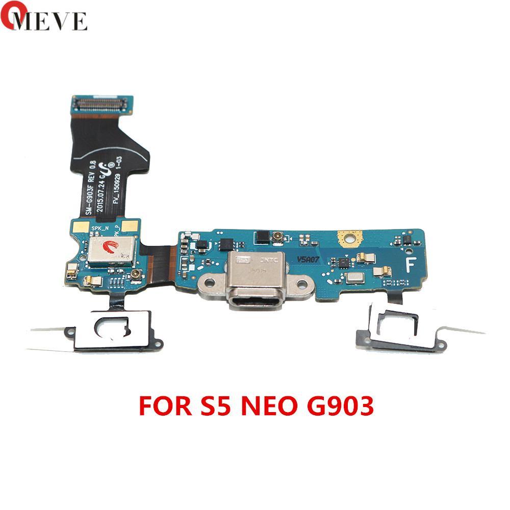 OEM For Samsung Galaxy S5 Neo SM-G903F G903F G903M USB Charger Connector Port Charging Port Flex Cable