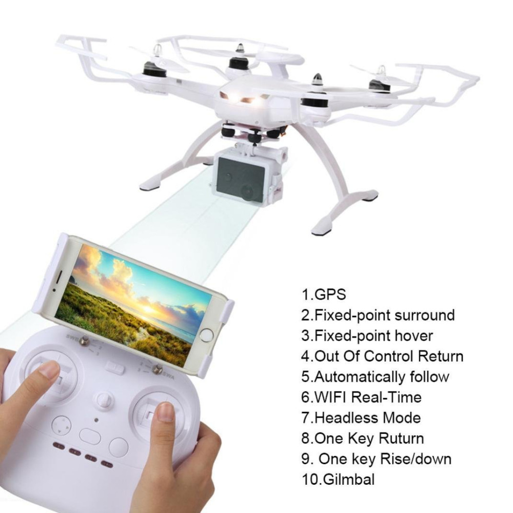 AOSENMA RC Helicopter Double GPS Follow me Optical Flow Wifi FPV Drone with Camera Remote Control Quadcopter RTF new arrival free shipping new arrival mjx x705c x705 wifi rc helicopter quadcopter 2 4g 4ch rtf with without c4005 fpv camera
