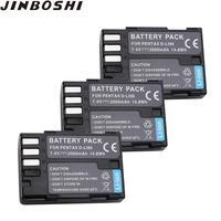 3PCS 2000mAh D LI90 DLI90 D LI90 Rechargeable Li ion Battery For PENTAX K 7 K 7D K 5 K 5 II 645D K01