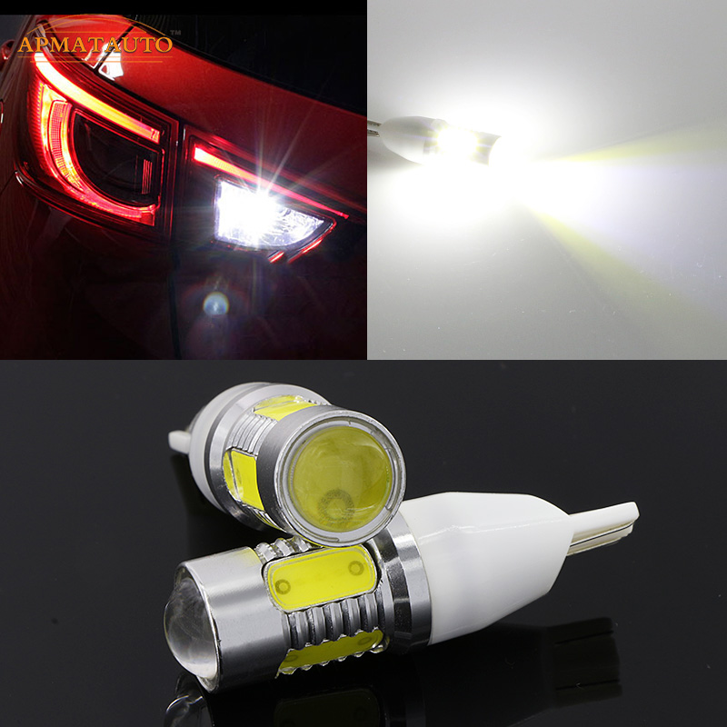 2x T15 T16 W16W Plasma LED Tail Reverse Lights For Lexus GS LX RX Series CT200H IS300 IS250 ES240 ES250 ES300H E350 RX270 GS250