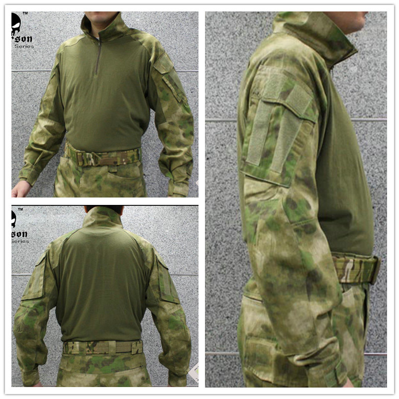 Emerson Tactical bdu G3 Combat shirt Emerson BDU airsoft wargame Military Army shirt AT/FG EM8576 combat army bdu emerson military airsoft painball coyote olive em6905