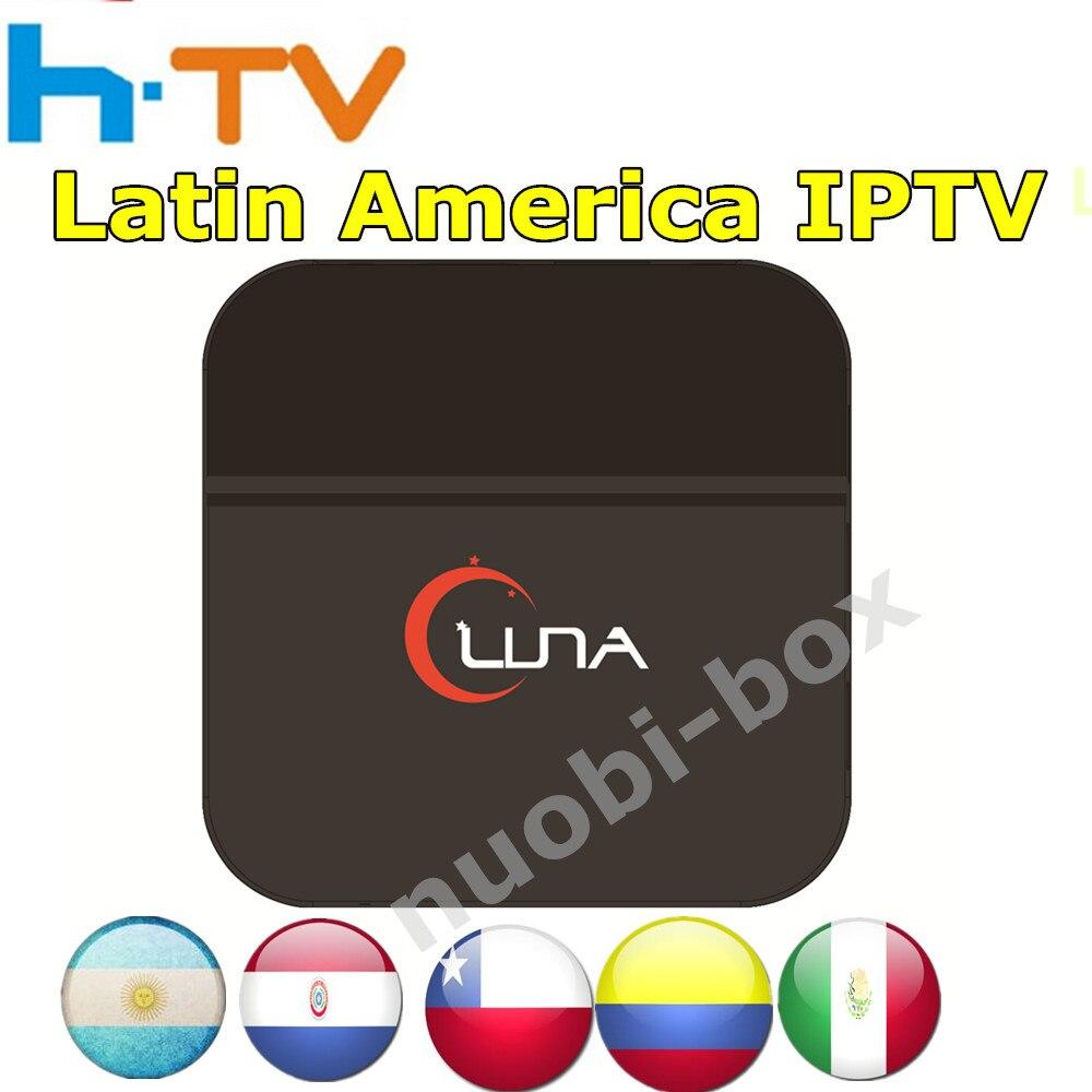 Genuine LUNA box latin iptv box Spainish Internet IPTV TV Box Live South America Mexico