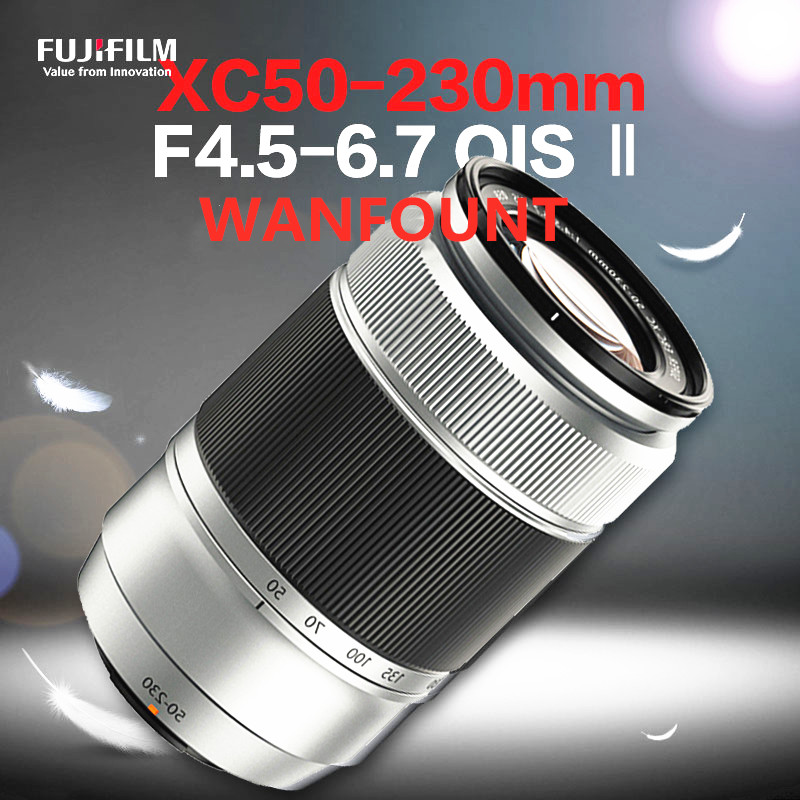 No Box! Silver XC50-230mm F4.5-6.7 OIS II Telephoto Lens (XC 50-230) For Fujifilm X-A3 X-A5 X-T2 X-T10 X-T20 X-A20 X-E2 Camera