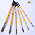12PCS Matisse brush wolf bristle painting brush for gouache oil acrylic paintings