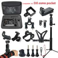 Osmo Tasche Gimbal Zubehör kit für Dji Osmo Tasche Montieren Verlängerung Selfie stick Speicher Tasche Fall Zubehör Set Adapter
