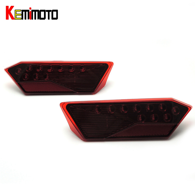 KEMiMOTO Left & Right Tail light for Polaris RZR 4 900 XP 4 TURBO RZR XP 1000 900 60 INCH PS EU 2014 2015 2016 2412341 2412342