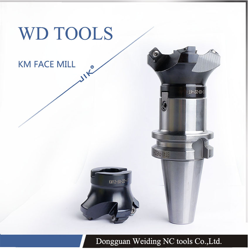 free shipping good quality 50mm 63m 80 KM face mill KM12-63 -22 face mill milling cutter cnc milling tools for inserts SEKT1204 face end mill shoulder milling cutter km12 aluminum and bt30 40 50 tool holder set cnc milling new