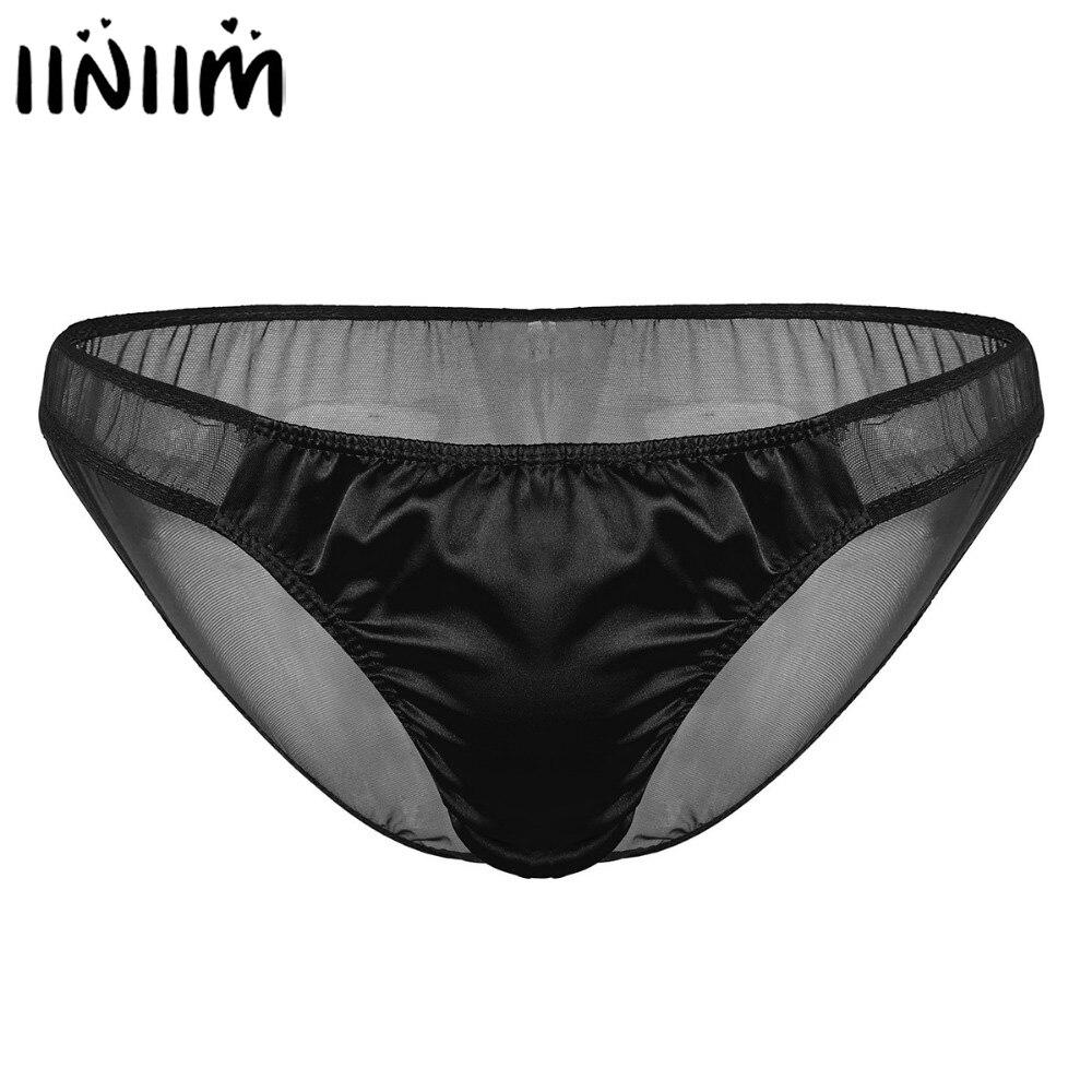 Men/'s See-through Boxer Briefs Mesh Jockstrap Pouch Underwear Backless Lingerie