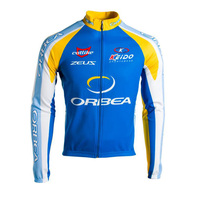 ORBEA 2018 New Men Cycling Clothing Long Sleeves Pro Team Cycling Jersey Autumn Ropa Quick Dry