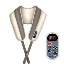 Smart Control Cervical Shoulder Taping Knocking Kneading Shiatsu Massage Massager Belt Heating Vibrating massage Massager