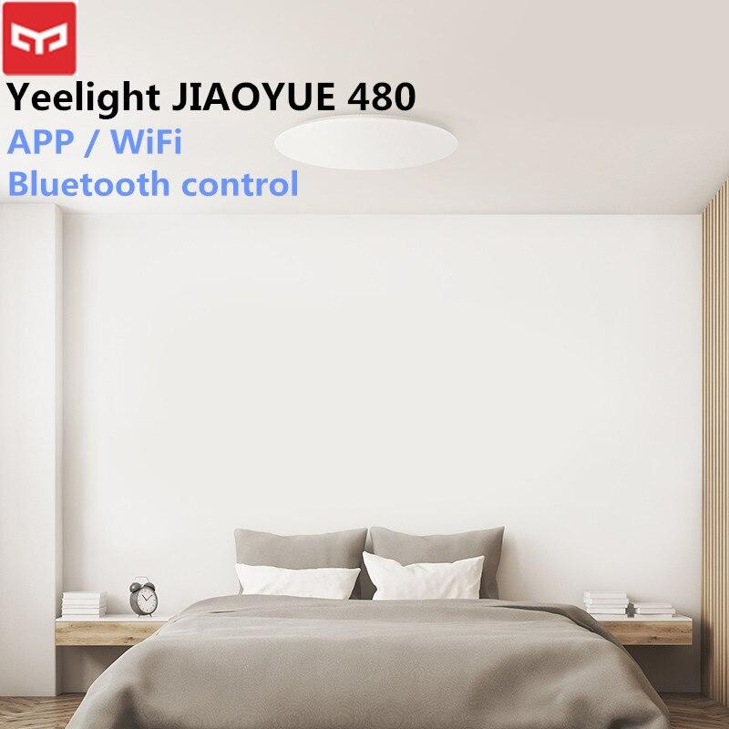 Xiaomi JIAOYUE 480 Luz de techo de luz Smart APP/WiFi/Bluetooth llevó la luz de techo 200-240 V controlador remoto