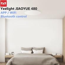 Xiaomi Yeelight JIAOYUE 480 потолочный светильник свет Smart APP/Wi-Fi/Bluetooth светодиодный потолочный светильник 200-240 В пульт дистанционного управления