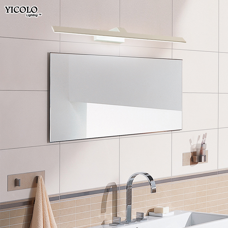 led lights for home Wall lamps for bathroom Waterproof white frame LED pocket lamp Modern indoor mirror Lighting lampara pared
