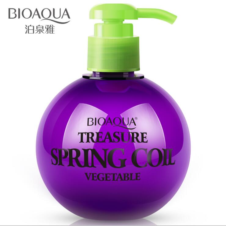 BIOAQUA Curl Enhancers Moisturizing Retaining Protect Hair Curls Lasting Stereotypes Hair Styling Elastin 250ml