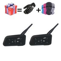 2018 NEW V6 Bluetooth intercom for motorcycle intercom Helmet Headsets intercom motorcycle headset intercomunicador moto