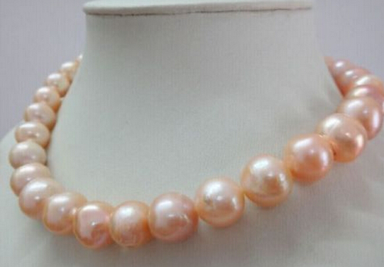 word 925 Sterling silver real 925 silver real natural big south seas pink kasumi freshwater pearls genuine necklaceword 925 Sterling silver real 925 silver real natural big south seas pink kasumi freshwater pearls genuine necklace