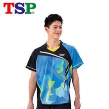 TSP 2018 nowe koszulki do tenisa stołowego koszulki dla mężczyzn kobiet ping pong Cloth Odzież sportowa Koszulki treningowe tanie tanio 83110 Unisex Pasuje do rozmiaru Weź swój normalny rozmiar