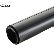 50*300cm Black Window Tint Film Glass 9% Roll 2 PLY House Commercial Tinting Protection UV+Insulation Car Side Window Tint Film(China)