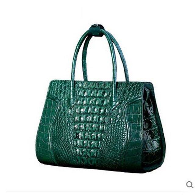 Heimanba Alligator Leather Women S Handbags Crocodile Handbag Bag Large Capacity Banquet Package Skin
