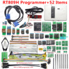 Free shipping Original RT809H EMMC Nand FLASH Extremely fast Universal Programmer +38 Items+Edid Cable WITH CABELS EMMC Nand