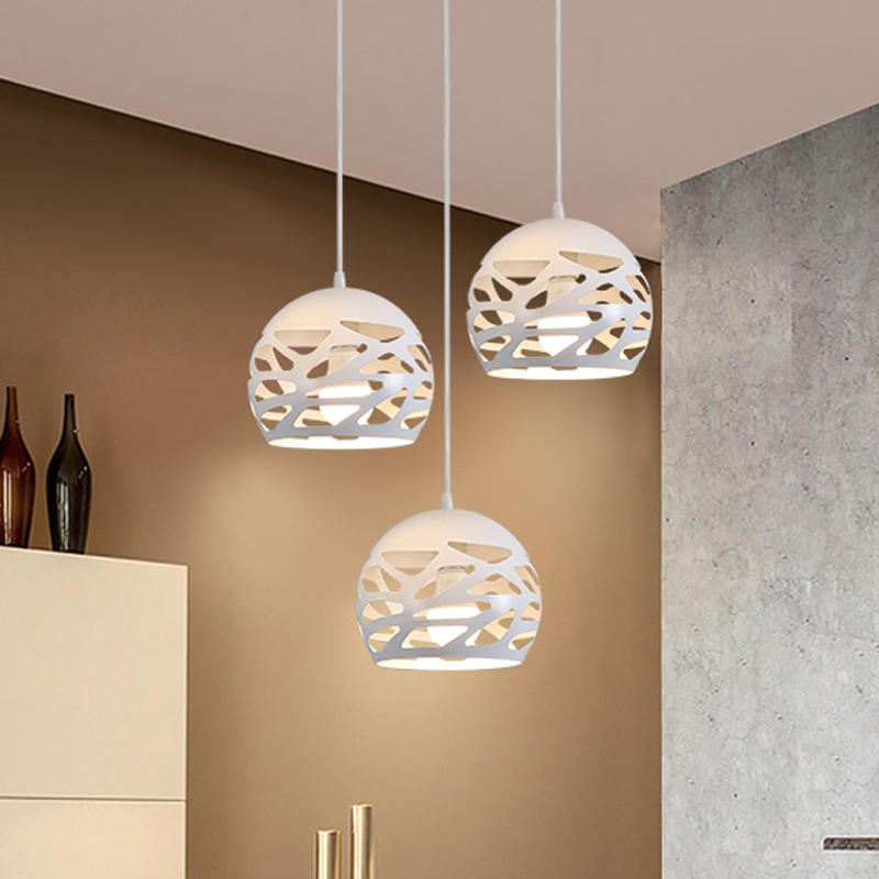 Modern led pendant lights dining room Bar counter Light luxury design indoor lighting E27 lamp holder pendant lamp AC 90-260V