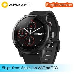 Original Xiaomi Huami Smart Watch Amazfit Stratos 2 Amazfit 2 Bluetooth GPS PPG Heart Monior 11 Kinds of Sport Mode Waterproof