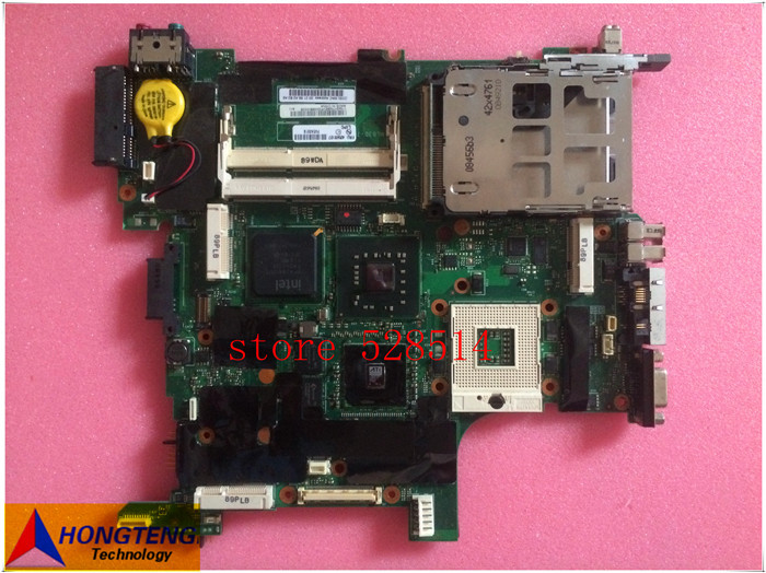 ФОТО original 42W8127 for Lenovo IBM Thinkpad R400 T400 Laptop motherboard DDR3 GM45 ATI Graphics  100% Test ok